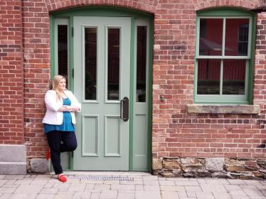 Green door pic