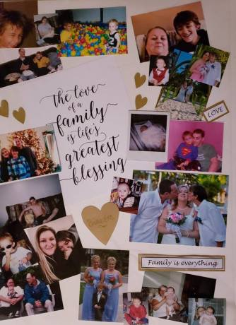 love of family collage