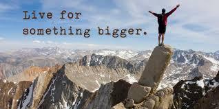 bigger than self